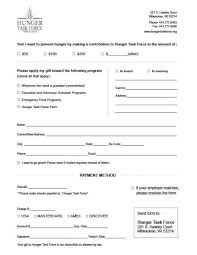 6 Charitable Donation Form Templates Free Sample Templates
