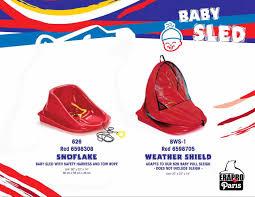 erapro snowflake baby sled