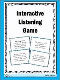 Best 25+ Listening games ideas on Pinterest | Kids brain games ...