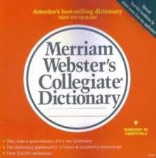 Merriam Webster S Collegiate Dictionary Deluxe Pc Cd Word