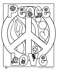 Small Picture Lisa Frank Dog Coloring Pages peace signs Free Peace Sign