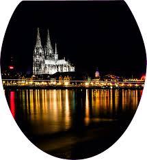 Wc Sitz Aufkleber Köln Dom Folie Dekor Toilettendeckel Bad Kls8 Ebay