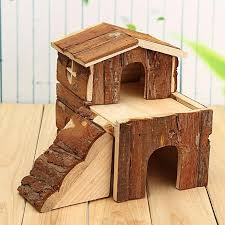 product images gallery generic wooden house villa cage exercise toys for hamster hedgehog mouse rat guinea pig