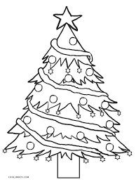 Free printable xmas tree coloring pages for kids that you can print out and color. Printable Christmas Tree Coloring Pages For Kids