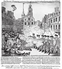 paul revere s depiction of the boston massacre out crispus  paul revere s depiction of the boston massacre out crispus attucks circulated