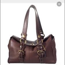 Coach Chelsea Medium Leather Satchel