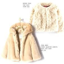baby faux fur coat faux fur coats for kids child faux fur coat
