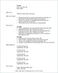 Skills Resume List Example Of On Basic Orlandomoving Co
