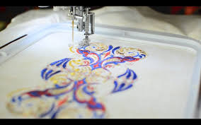 How To Embroider Metallic Thread On A Home Machine YouTube - Home machine embroidery designs