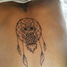 Cute Dream Catcher Tattoos 100 Amazing Owl Tattoos Their Meanings 93