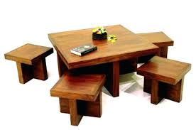 coffee table with stool popular of coffee table with stools wooden coffee table with stools underneath
