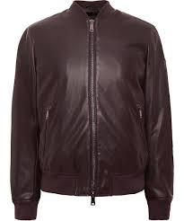 armani jeans faux leather er jacket