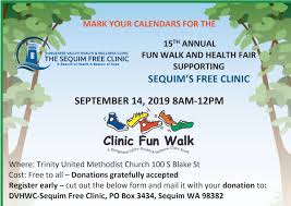 Upcoming Events Sequim Free Clinic