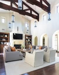 spanish furniture design. blackband designs project shady canyon reveal modern spanish living room ceilingbeams archeddoorways furniture design