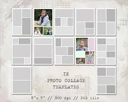 12 Square Storyboard Templates Photo Collage Templates
