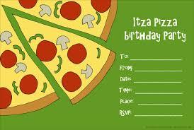 Pizza Party Invitation Templates Pizza Party Invitation Template Word Barca Fontanacountryinn Com