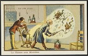 Организм Википедия Борьба с микробами Французская карточка 1900 года