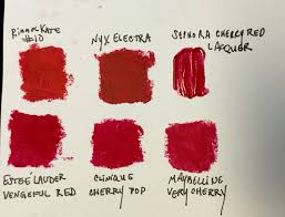 lip colors i swatched to bw bright winter makeup in 2018
