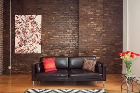 exposed brick walls how to hang a