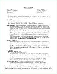 Example Resume Experience 24 Example Resumes For College Students With No Experience 7