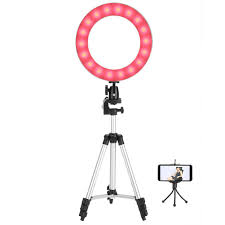 Led Ring Light Walmart Ejoyous 10 Led Ring Fill Light With Stand Dimmable Led Fill Light Kit For Video Live Makeup Ring Fill Light Led Ring Fill Light