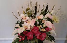 office floral arrangements. Office Floral Arrangements. Tropical Arrangement, Large Silk Centerpiece, Orchids, Lily Table Arrangements