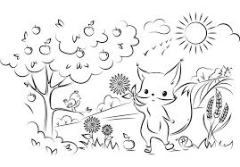 Lade dir die malvorlagen jetzt kostenlos herunter. 32 Ausmalbilder Tiere Im Wald Eichhornchen Besten Bilder Von Ausmalbilder