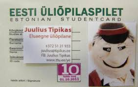 Technology Card lt; Information University Of Student Guide Practical Tallinn