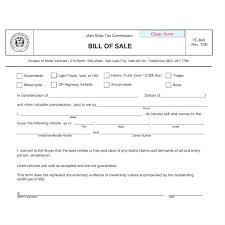 Elegant Bill Sale For Used Car Template Sales Receipt Form