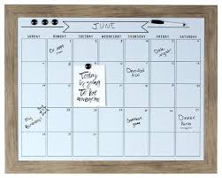 rustic brown framed magnetic dry erase calendar wall contemporary bulletin boards and chalkboards