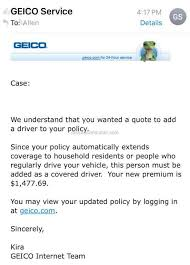 Geico New Quote Awesome GEICO A Quote Isn't Always Just A Quote Nov 48 48 Pissed Consumer