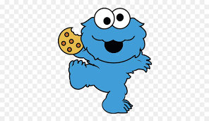 cookie monster drawing cute. Simple Monster Cookie Monster Elmo Biscuits Drawing Clip Art  Biscuit On Cute W