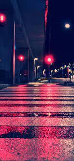 Night City Lights Street 4k Iphone ...