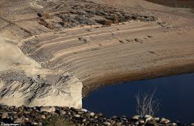 Lake Powell Water Level Chart Photographs Of The Colorado River Reveal Thousands Of Miles