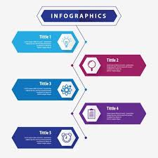 Google Charts Transparent Background Business Infographics Template Five Option Abstract
