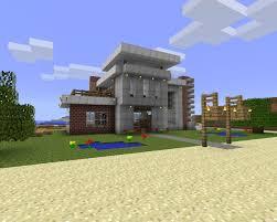 modern minecraft beach house blueprints