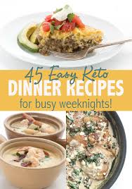 Foods high in cholesterol include fatty meats, milk products, egg yolks, snacks, crackers, muffins, and fast foods. Easy Keto Dinner Recipes For Busy Weeknights All Day I Dream About Food