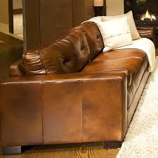 oversized leather couch. Simple Leather Soho 3 Piece Rustic Brown Leather Sofa Set W Oversized Chairs  ELESOH  On Couch E