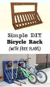 bicycle rack with helmet storage