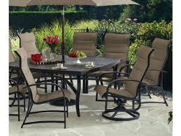 fortunoff patio furniture 9 padded sling dining square slat top umbrella table fortunoff patio furniture covers