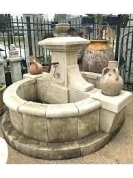 copper bowl fountain wall mounted g garden fountains