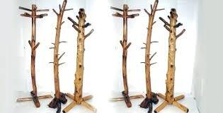 Cedar Coat Rack Beauteous Log Coat Rack Rustic Trees Pine Cedar Each Wall Cabin Entryway