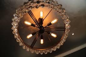 popular pottery barn wine barrel chandelier
