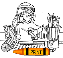 Small Picture Coloring Pages to Print Page 1 Free Kids Christmas Games