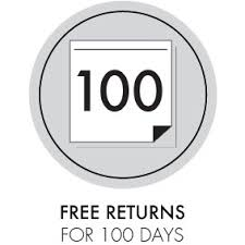 Free Returns For 100 Days