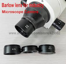 efix <b>0.5X</b> 2X 0.7X <b>Barlow</b> Auxiliary Glass Lens Fox <b>Objective Lens</b> ...