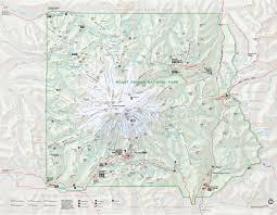 mount rainier maps  npmapscom  just free maps period