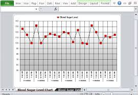 Sugar Tracking Free Excel Template For Tracking Blood Sugar Levels
