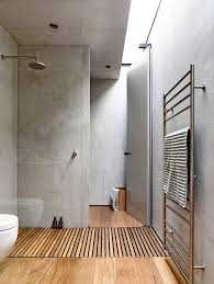 concrete bathroom - beach ave house - elwood australia - schulberg demkiw  architects - photo by derek swalwell