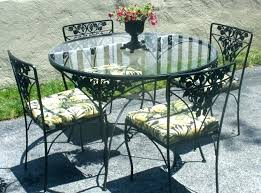 black wrought iron round patio table wrought iron dining chairs image of vintage wrought iron patio